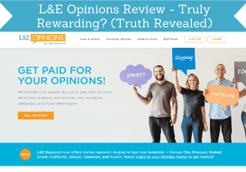 l&E opinions review header
