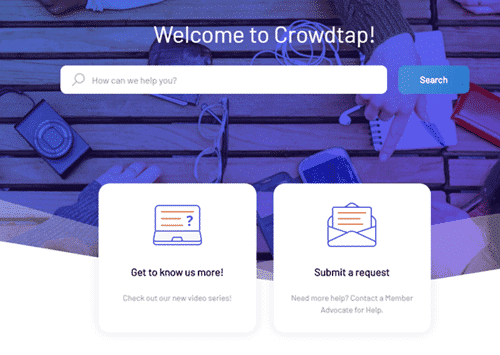 crowdtap support