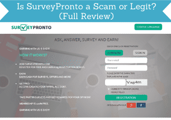 is surveypronto a scam header