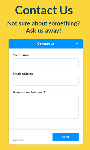 honeygain contact form