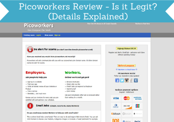 picoworkers review header