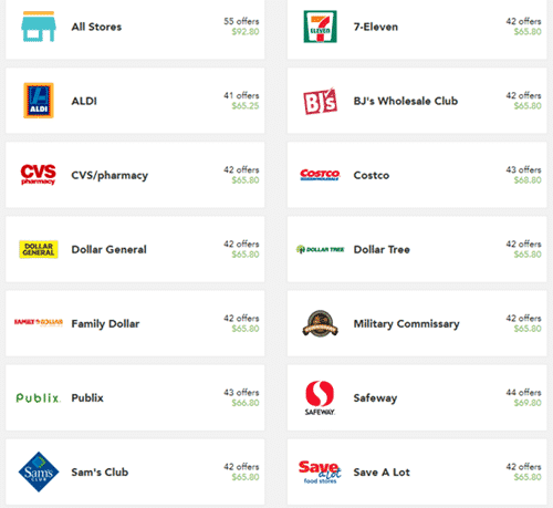 checkout 51 partner stores