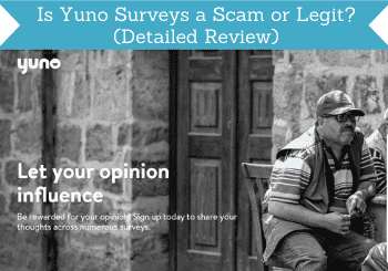 is yuno surveys a scam header