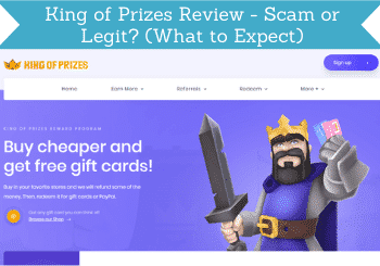 king of prizes review header