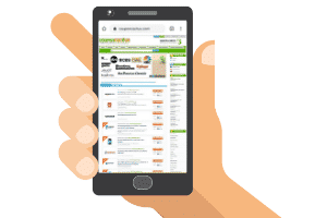 coupon cactus mobile site