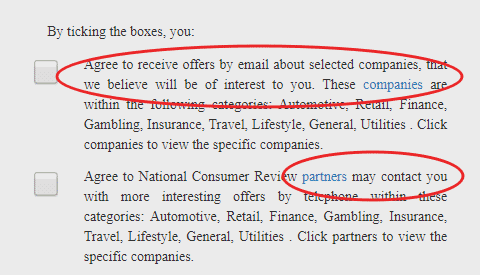 national consumer review uk sign up terms