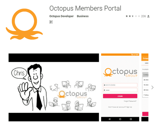 octopus group app