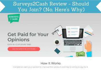 surveys2cash review header