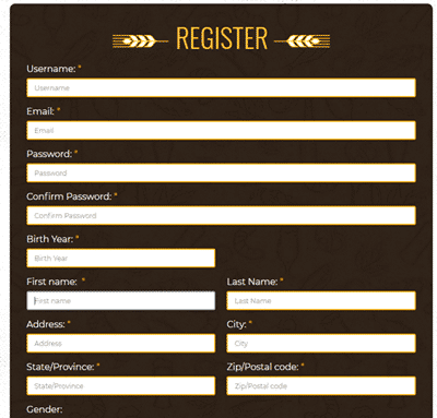 beersurveys registration
