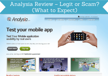 Analysia Review Header