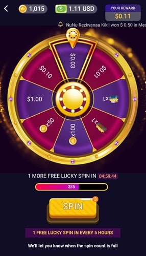 Lucky Spin The Wheel On Clipclaps 1