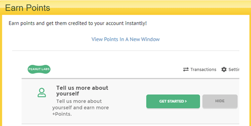 Paid To Read Email Earning Points