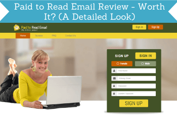 Paid To Read Email Review Header
