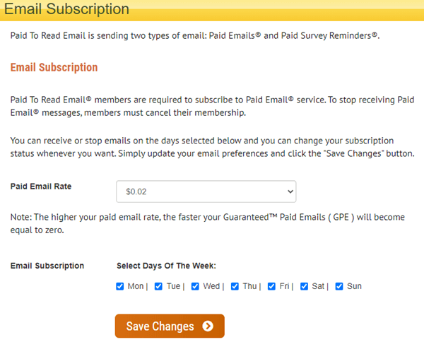 Paid To Read Email