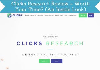 Clicks Research Review Header