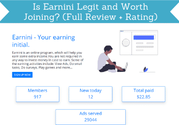 Earnini Review Header
