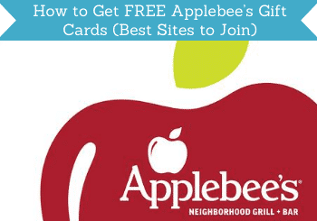 How To Get Free Applebees Gift Cards Header