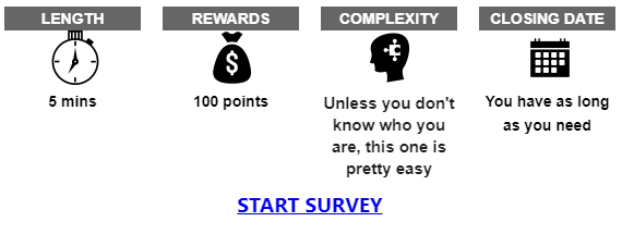 Opinion Compare Survey Invitation Example
