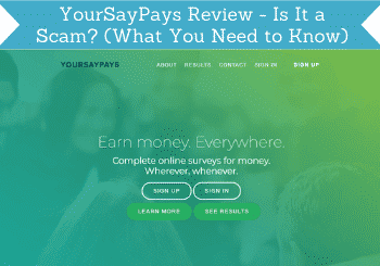 Yoursaypays Review Header