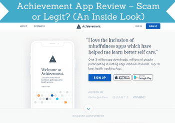 Achievement App Review Header
