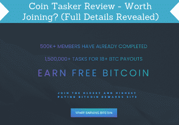 Coin Tasker Review Header