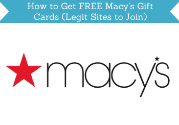 How To Get Free Macys Gift Cards Header