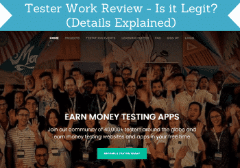 Tester Work Review Header