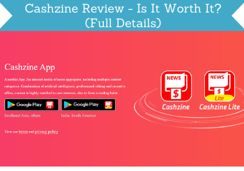 Cashzine Review Header