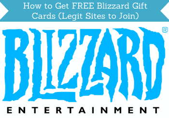 How To Get Free Blizzard Gift Cards Header