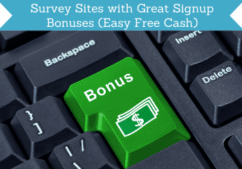 Survey Sites With Great Signup Bonuses Header