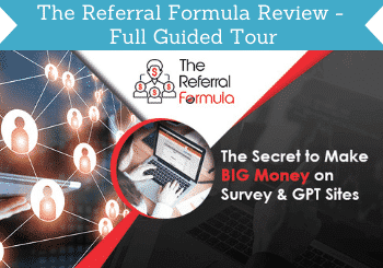 The Referral Formula Review Header