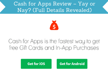 Cash For Apps Review Header