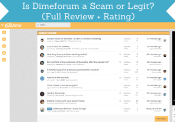 Dimeforum Review Header