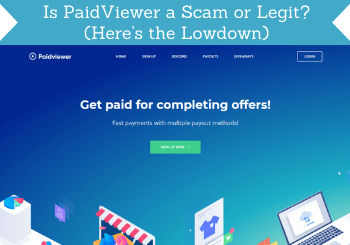 Paidviewer Review Header