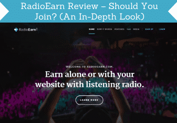 Radioearn Review Header