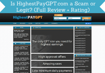 Highestpaygpt Review Header
