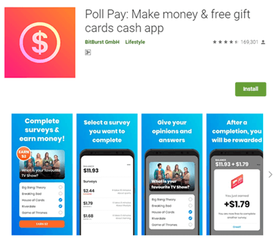 Mobile App Of Poll Pay