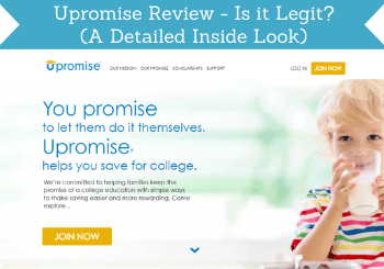 Upromise Review Header