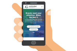 Adwallet Mobile Site