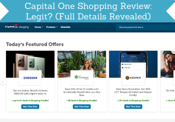 Capital One Shopping Review Header