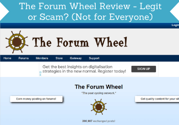 The Forum Wheel Review Header