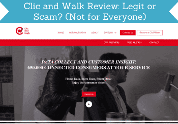 clic and walk review header