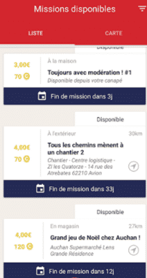 missions of clic and walk