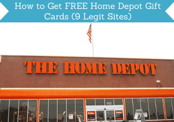 free home depot gift cards header
