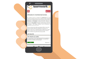 mobile site of teemwork