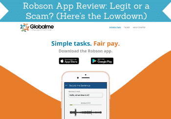 robson app review header