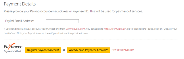 teemwork payment options