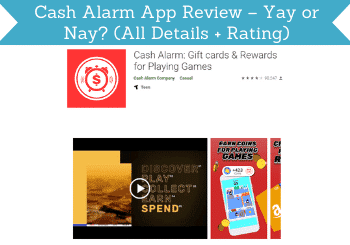 cash alarm app review header