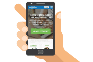 mobile site of getpaidto