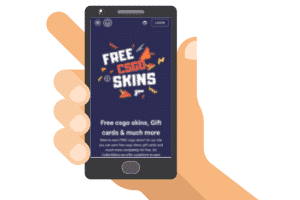 collectskins mobile site